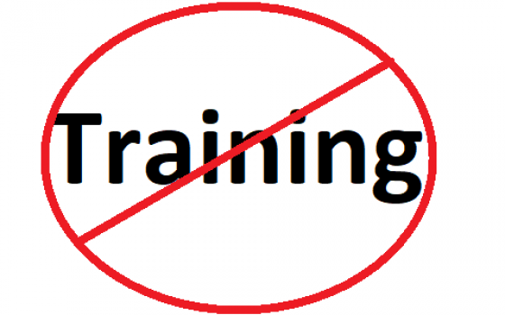 Trainingsausfall